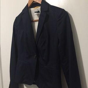 J. Crew Navy Blazer Size 0